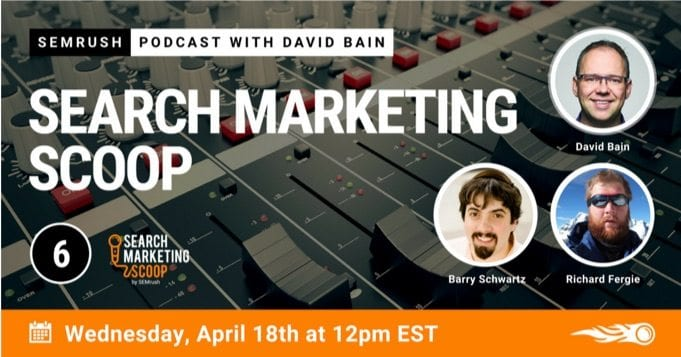 search engine marketing scoop podcast