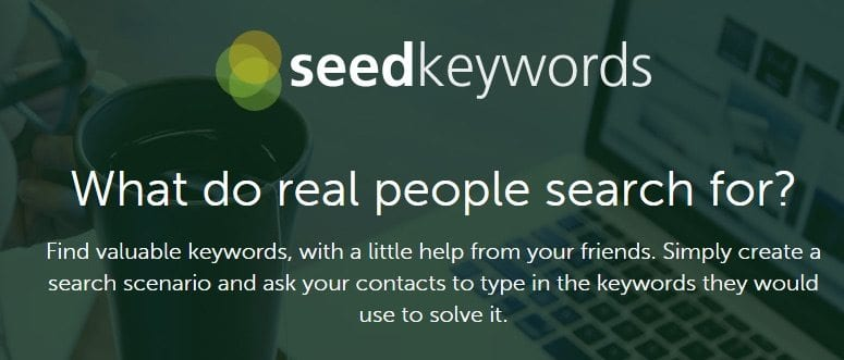 what do real people search for seed keywords