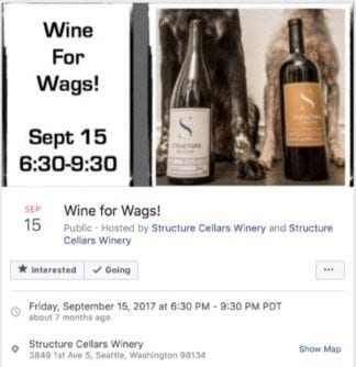 wine for wags event