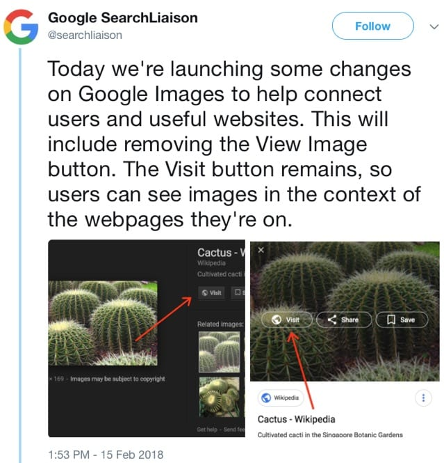 google search liaison tweet