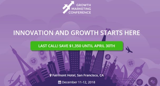 growth marketing conference 2018