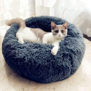 Round-Plush-Cat-Bed-Pet-House-Soft-Long-Plush-Cat-Mat-Round-Dog-Bed-For-Small_1
