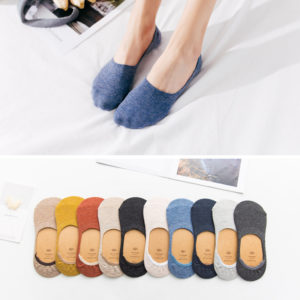 0_10-pieces-5-pairs-Spring-summer-women-socks-Solid-color-fashion-wild-shallow-mouth-invisible-socks