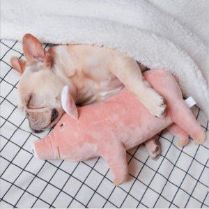 1_Dog-Chew-Toy-Pig-Stuffed-Doll-Lying-Plush-Piggy-Toy-Pink-Animals-Soft-Plushie-Toys-Doggy