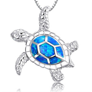 3_Fashion-Silver-Filled-Blue-Imitati-Opal-Sea-Turtle-Pendant-Necklace-For-Women-Lady-Animal-Beach-Jewelry