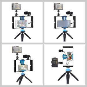4_PULUZ-Dual-Handheld-Filmmaking-Recording-Vlogging-Video-Rig-Case-Stabilizer-Film-Steady-Handle-Grip-Rig-for