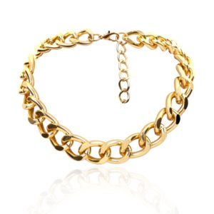 4_Punk-Miami-Cuban-Choker-Necklace-Collar-Statement-Hip-Hop-Big-Chunky-Aluminum-Gold-Color-Thick-Chain (1)